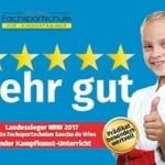 Auszeichnung als Landessieger NRW 2017