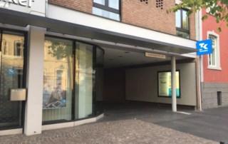 Eingang Standort Bergheim